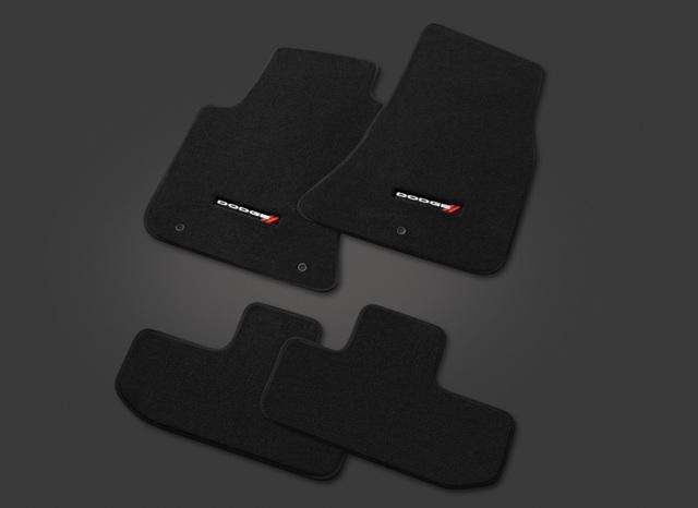 1 Pack Mopar 82214926AC Black Carpet Cargo Mat