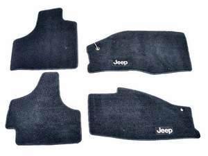 Premium Carpet Floor Mats - Mopar (82212593AB)