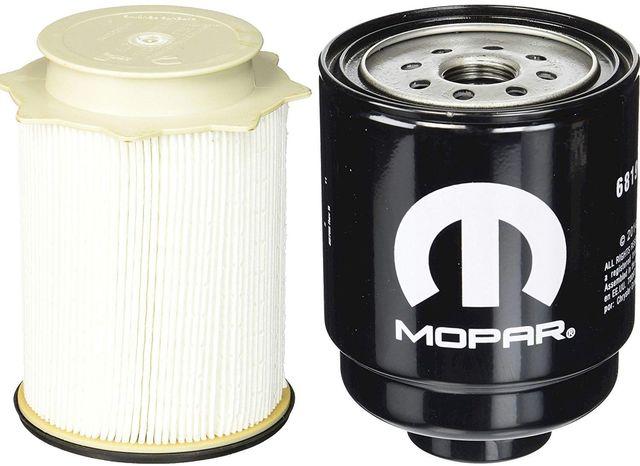 Dodge Ram 6.7 Liter Diesel Fuel Filter Water Separator Set Mopar OEM - Mopar (68157291AA-68197867AA)