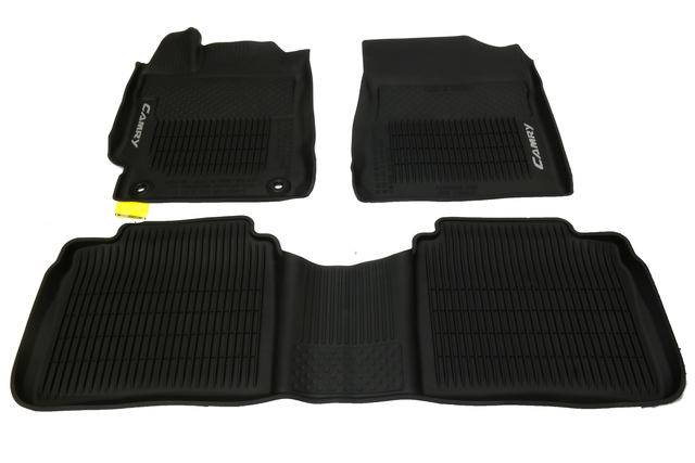 Genuine  Camry 3PC All Weather Mats Tub Style PT908-03155-20