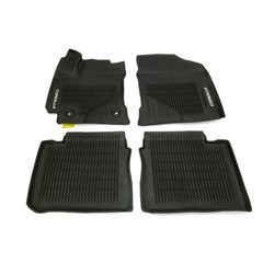 OEM NEW Front & Rear All Weather Floor Mats Black 2017-2019 Toyota Corolla - Toyota (PT9080217002)