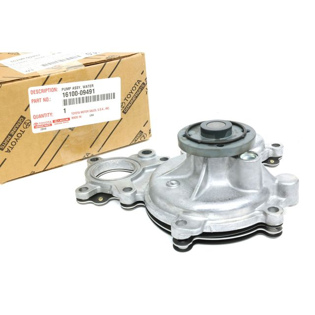 Oem New Engine Water Pump W   Gasket 5 7l Land Cruiser Sequoia Tundra 1610009491