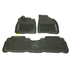 OEM NEW Front & Rear All Weather Floor Mats 3 pc 2016-2019 Toyota Highlander - Toyota (PT9084816502)