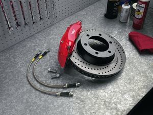 Trd High-Performance Brake Kit - Toyota (PTR09-35130)