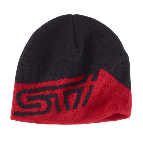 STI Beanie Hat / Red - Custom (GEAR267963)