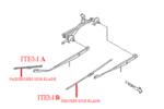 USE SOA591U417 / Hybrid Wiper Blade - 17 - Subaru (soa591u417)