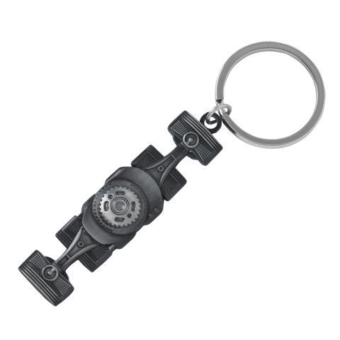 Key Tag Boxer Engine / Silver - Custom (GEAR235870)