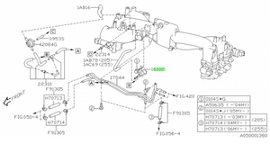 VALVE, DUTY SOLENOID [ 2.5 CAR, EXCEPT CAL SPEC ] VIN REQUIRED 16102 - Subaru (16102AA080)