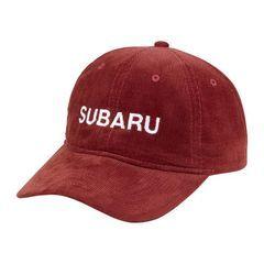 CAP, RED CORDUROY - Custom (GEAR350796)