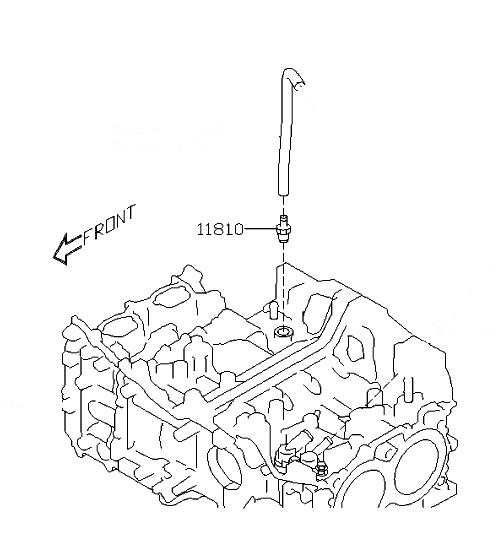 2010 2012 subaru pcv valve 11810aa090 subaru parts for you 1997 Subaru Impreza Fuel Filter pcv valve subaru 11810aa090