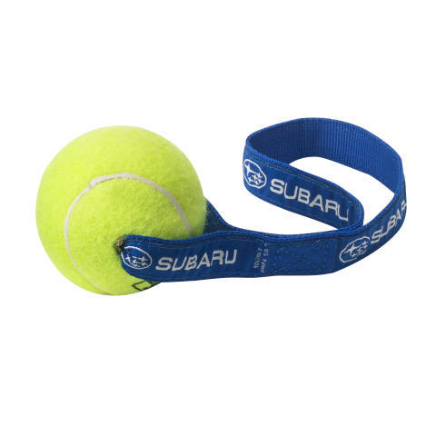 TENNIS TOSS DOG TOY