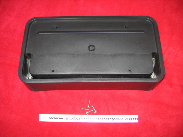Mount for Front License Plate, 2014-2018 Forester XT - Custom (NESFT14FP)