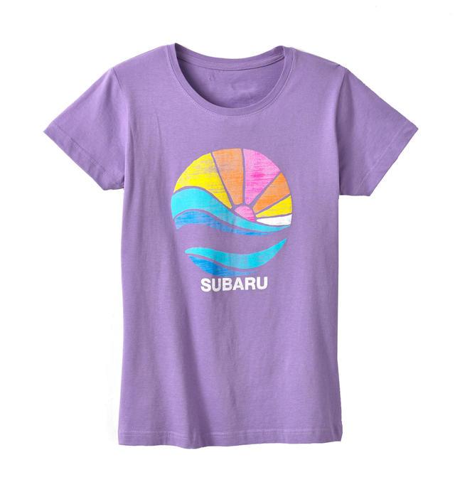 Purple Subaru Sun Tee