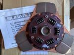02-05 WRX 5 speed Stage 2 STi 3 puck clutch disc - Subaru (ST3010055120)