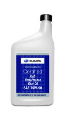 HIGH PERF GEAR OIL 75W-90 QUART - Subaru (SOA427V1700)