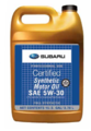 Synthetic 5W-30 Oil Gallon [ LOCAL PICK-UP ONLY ] - Subaru (SOA427V1415)