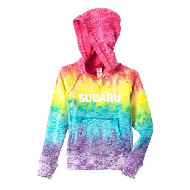 Girls Rainbow Hoody / Youth Sizes