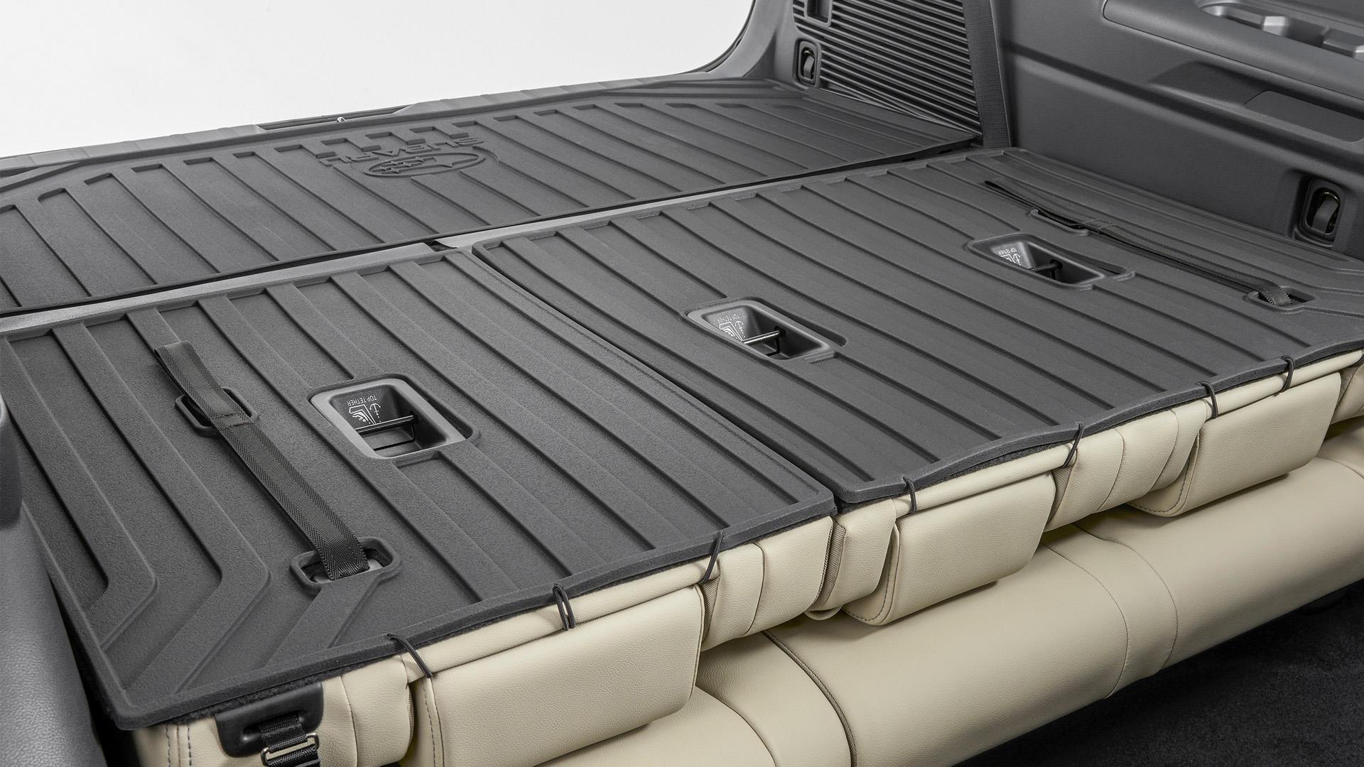 Rear Seat Back Protector / Ascent - Subaru (J501SXC110)