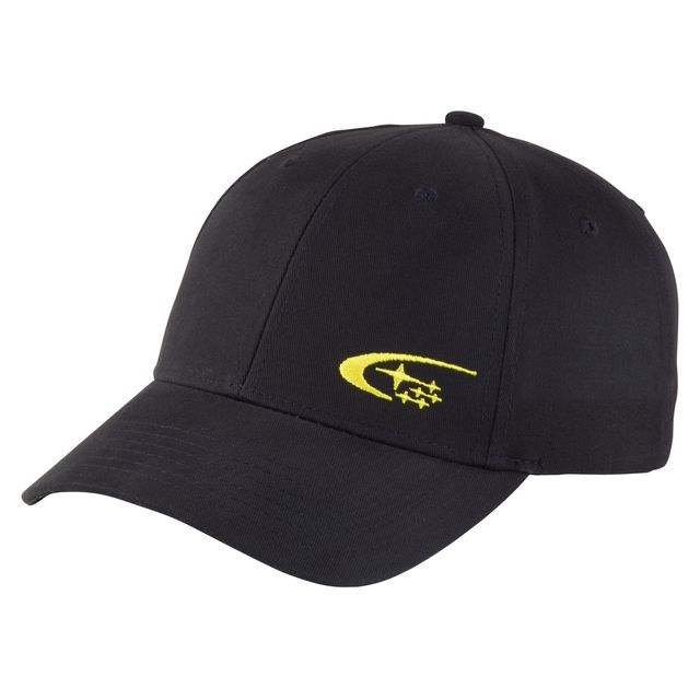 CAP, COTTON TWILL BLACK & GOLD - Custom (GEAR345003)