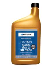Synthetic 5W-30 Oil Quart - Subaru (SOA427V1410)