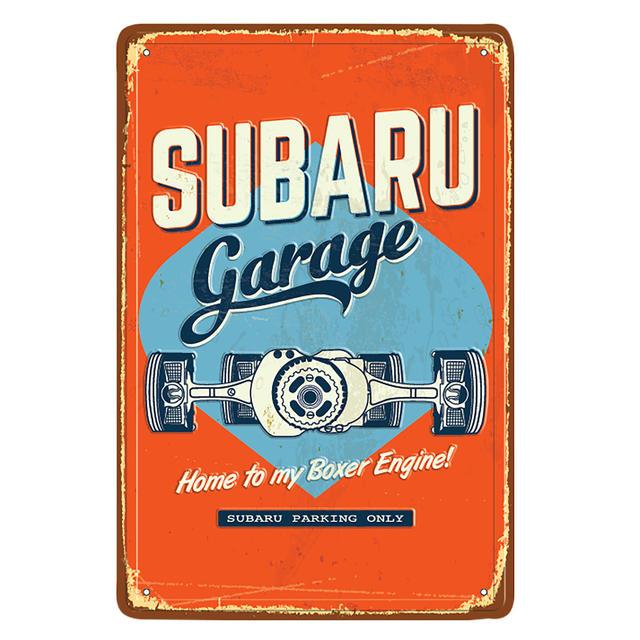 Vintage Garage Sign - Custom (GEAR278224)