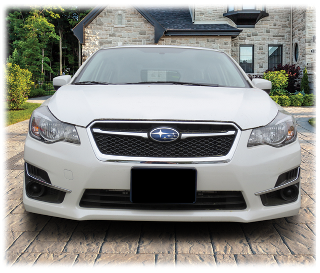 Mount for Front License Plate, 2015-2016 Impreza [Non-turbo]