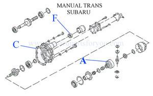 SIDE SEAL - Subaru (806732200)
