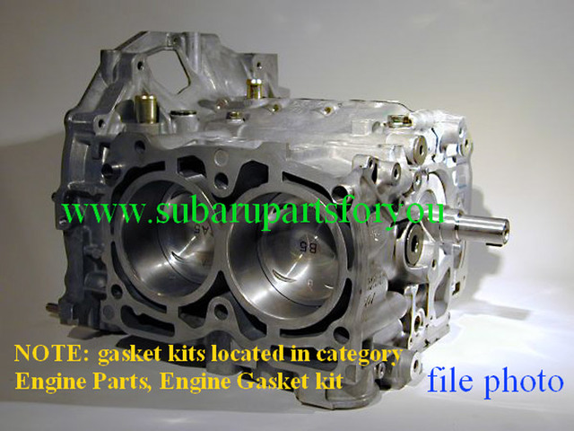 SHORT BLOCK ENGINE [ NEW ] NON-RETURNABLE VIN REQUIRED / PICK UP ITEM IN CT ONLY - Subaru (10103ac480)