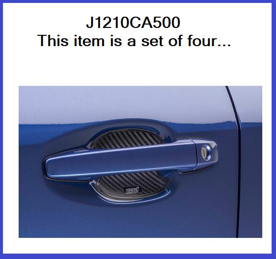 Sti Door Handle Cup Protector - Subaru (J1210CA500)