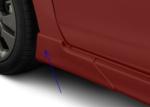 SPLASH GUARD KIT [4], FIVE-DOOR SPORT MODEL FOR NON-TURBO CAR , COLOR MATCH OBSIDIAN BLACK PEARL