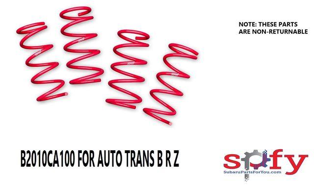 Coil Spring Set [  2017-19 BRZ AUTO TRANS   ] - Subaru (B2010CA100)