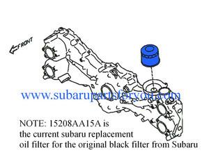 Oil Filter - Subaru (15208AA15A)