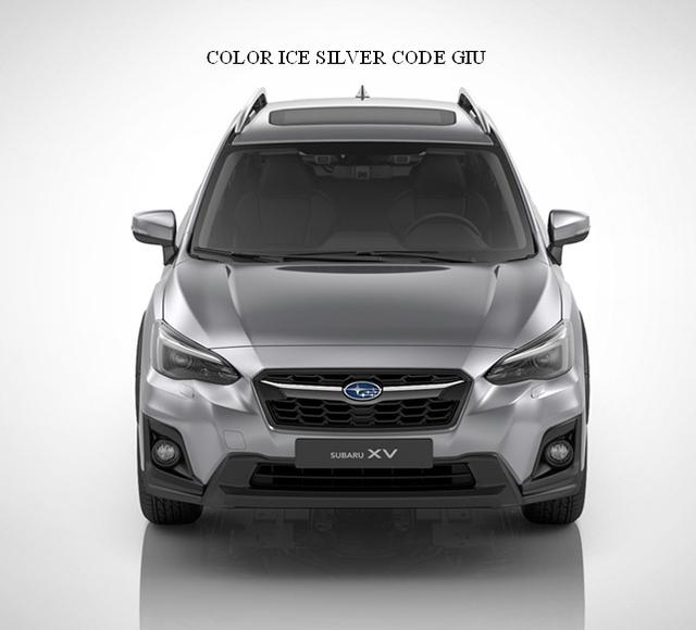 2018 Subaru Molding Body Side Ice Silver Metallic 2018 19 Xv