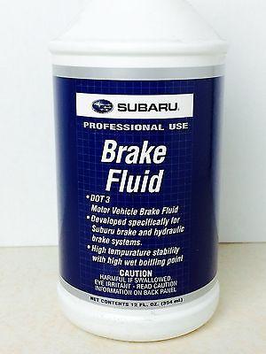 Brake Fluids 12 Fl Oz - Subaru (SOA868V9221)