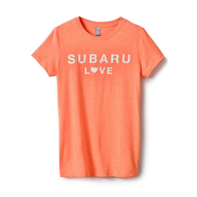 Orange Subaru Love Tee