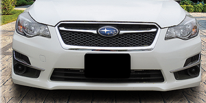 Mount for Front License Plate, 2017-2019 Impreza [Non-turbo] - Custom (NESI17FP)