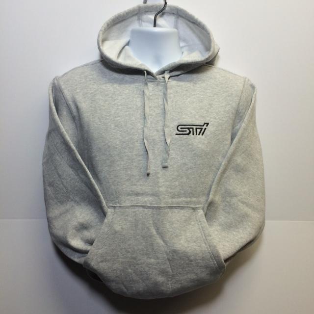 Hoody Heavyweight Gray / STI Logo