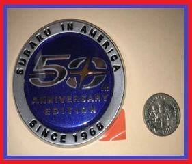 Emblem 50TH Anniversary badge - Subaru (93063AL020)
