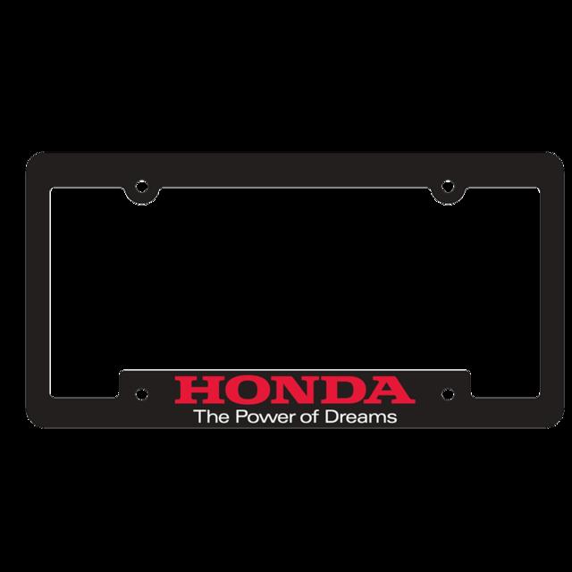 Honda Power of Dreams plate frame - Honda (PODFRAME)
