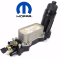 2014-2016 3.6L and 3.2L V6 Oil Filter Housing - Includes gaskets, seals, and sensors - Mopar (68105583AF)