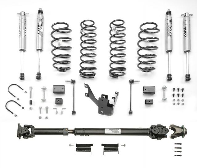 Lift Kit - 2 In Lift Kit W/ Fox Racing Shox - Mopar (77070095AD)