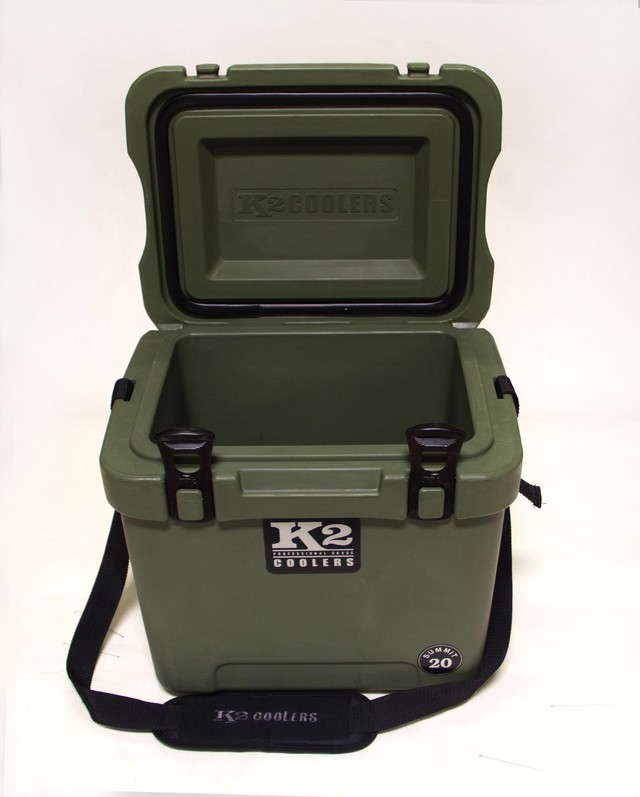 K2 Summit 20 Cooler - Duck Boat Green - K2 Coolers (S20GN)