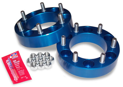 """Spidertrax Toyota 6 on 5-1/2"""" x 1-1/2"""" Thick Wheel Spacer Kit - Spidertrax (WHS005)"""