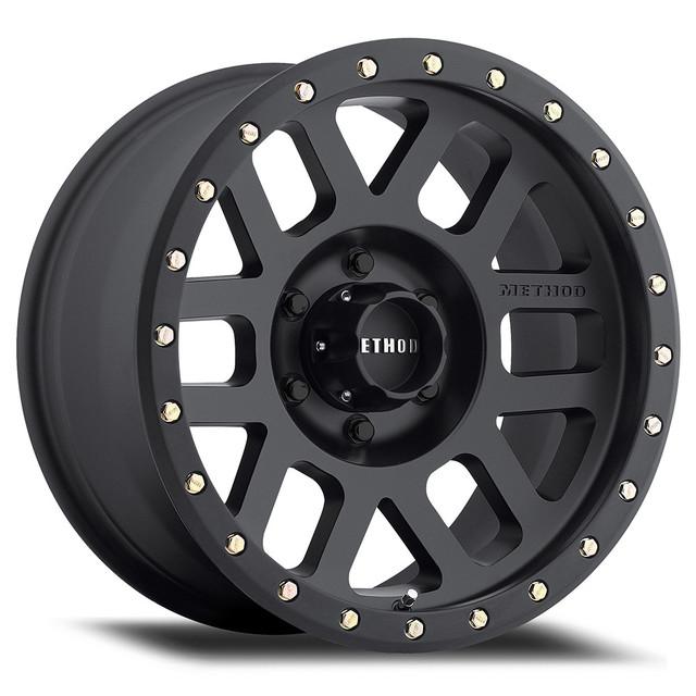 Wheel, Method Grid - 18x9 +18mm, 5x150 Matte Black Finish - Method Race Wheels (MR30989058518)