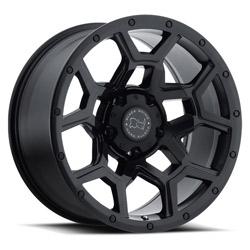 Wheel, Black Rhino Overland - 20x9.5 +6MM Matte Black - Black Rhino Wheels (2095VRL065150M10)