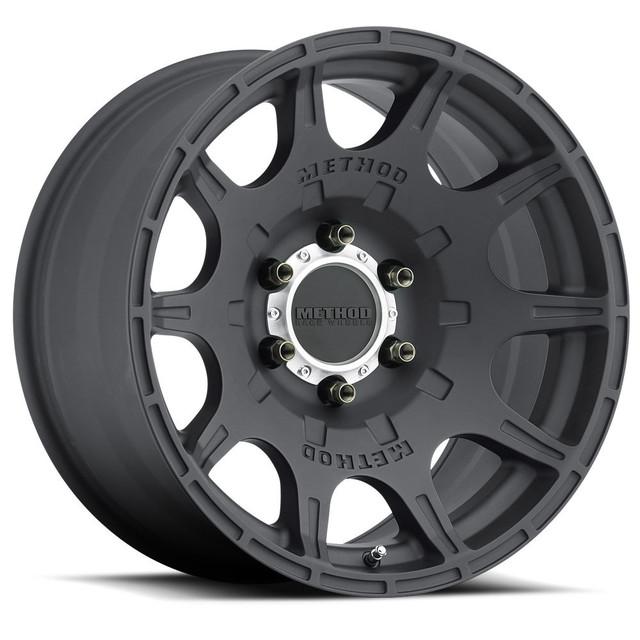 Wheel, Method Roost - 18x9.0 +18mm, 5x150 Matte Black Finish - Method Race Wheels (MR30889058518)