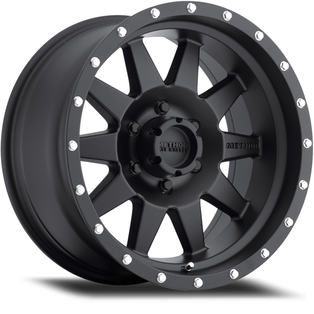 Wheel, Method Standard - 20x9.0 +18mm, 5x150 Matte Black Finish - Method Race Wheels (MR30129058518)