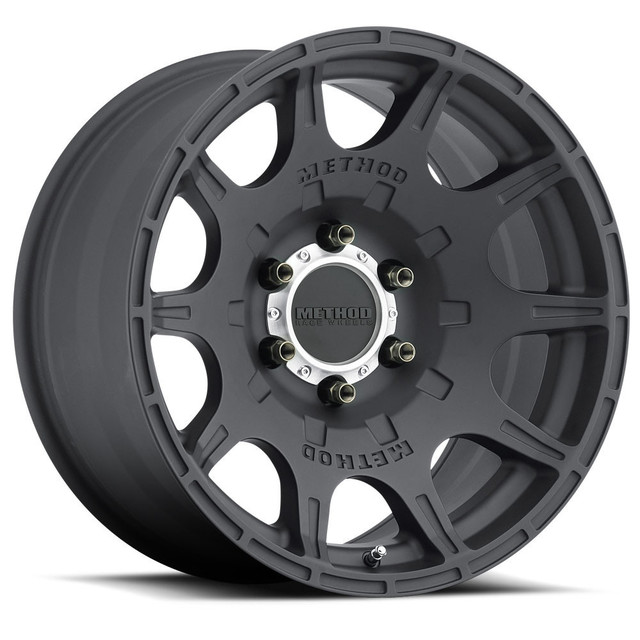 Wheel, Method Roost - 18x9 +18mm, 6x5.5 Matte Black Finish - Method Race Wheels (MR30889060518)