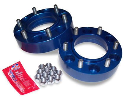 """Spidertrax Toyota 6 on 5-1/2"""" x 1-1/4"""" Thick Wheel Spacer Kit - Spidertrax (WHS007)"""
