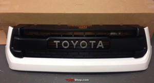 Grille, Tundra TRD Pro - White (040) - Toyota (53100-0C260-A0)
